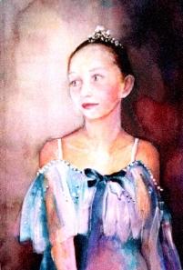 Marie  Aquarelle, 60 x 40 cm - 2002    Par Miki